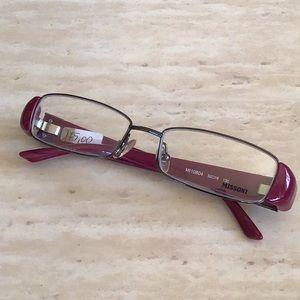 Missoni women's vintage designer eyeglasses frames